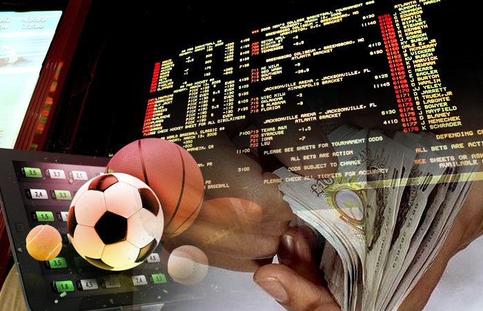 Placing sports bets online
